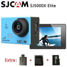 Original SJCAM SJ5000X Elite WiFi 4K 24fps Gyro Sports DV 2.0 LCD Waterproof Action Camera +Extra 1pcs battery+Charger+32GB Card(China)