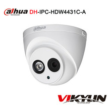 Dahua 4MP IP camera IPC-HDW4431C-A POE network Build-in Mic IR 30M security CCTV Dome camera