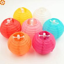 6 '' (15cm) 10Pcs/lot Chinese paper lantern, round lamp, Wedding Decoration glim, festival birthday party decoration Lampion(China)