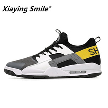 2018 Summer Fashion Men Shoes Korean Casual Shoes Breathable New Trend Spring Autumn Comfortable Men's Sneakers Bottom Footwear