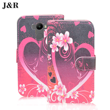 Painting case For Xiaomi Redmi 4 32Gb (Dual Sim 4G) leather case Cartoon Stand Holder Card cover for Xiaomi/hongmi Redmi 4/4 Pro
