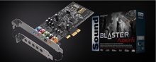 New CREATIVE SOUND BLASTER AUDIGY FX SB1570 5.1 sound card PCI-E interface SBX Pro Studio 24bit / 96kHz 106dB SNR 600 ohms AMP
