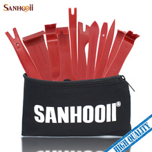 Buy SANHOOII 11in1 Professional Car Vehicle Door Dash Trim Panel Molding Clip Retainer Removal Pry Tool Set Auto Repair Tool Kit for $14.99 in AliExpress store