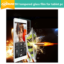 "High quality Tempered Glass Protector For Teclast newest 10.1"" X10 3G Octa core tablet pc + gift free shipping(China)"