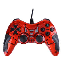 2017 Wired Vibration Joypad Game Controller Gamepad USB Joystick PC Game Controller for PC Laptop Desktop Computer Windows