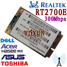 REALTAK RT2700E Mini PCI-E Express WLAN PC Karte 300 Mbps 802.11 b/g/n WI FI card
