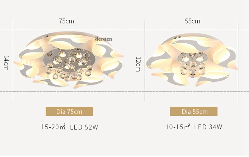 Modern Luxury Bird Crystal Ceiling Lamps With Remote Controller Dia957555cm Crystal Ceiling Chandelier For Living Room Bedroom (9)