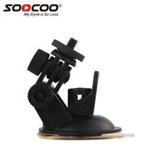 Mini Car Suction Cup Mount Tripod Holder Suction Cup Mount for Car GPS DV DVR Xiaomi yi Action Camera accessories