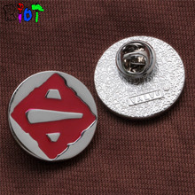 new broches jewelry fashion dota2 badge High quality alloy jewelry man and woman large brooches lapel pin Fashion accessories