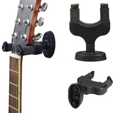 AROMA AH-81 Electric Guitar Wall Hanger Black Nylon Holder Stand Rack Hook Mount For Guitar String Instruments Parts Accessories
