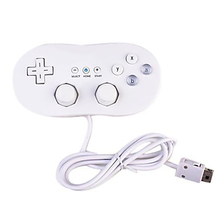 For Wii Mini Classic Controller Pro Black White Gamepad For Wii Remote Accessories Video Games Joystick(China)