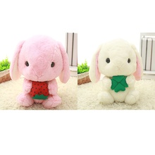 2PCS Cute Rabbit Appease Reborn Babies Doll Soft Anime Plush Toys Brinquedos Bunny Stuffed Animal Rabbit Toy Valentine Day Gift