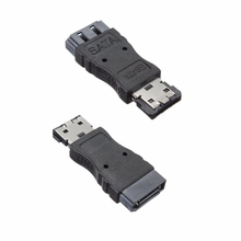 Portable SATA Female Jack to eSATA Male Plug Convert Convertor Adapter Connector For HDD Hard Drive High quality