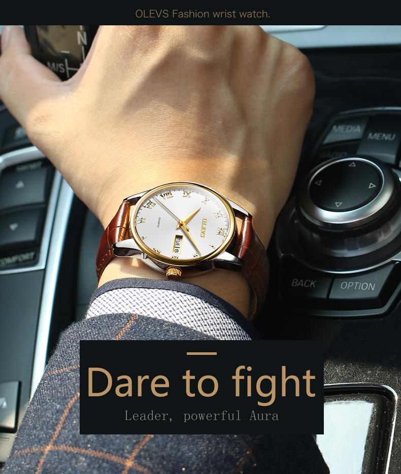 HTB1R1.obfxNTKJjy0Fjq6x6yVXaf - OLEVS Luxury Men Gold Watches High Quality Watch Men's Quartz Date Clock Male Week Display Wristwatch Steel relogio masculino