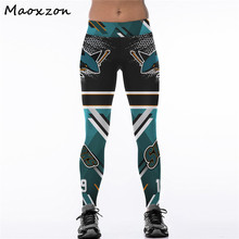 Buy Maoxzon Womens Digital Print High Waist Bodycon Workout Fitness Slim Leggings Ankle-Length Elastic Skinny Pants 4XL Female for $10.49 in AliExpress store