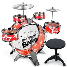 Children Drums Toys Simulation Jazz Drums Musical Instruments Toys