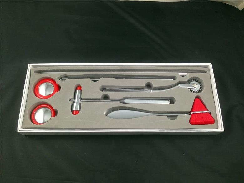 5 IN 1 Multifunction medical hammer Medical Neurological Hammer Percussor Diagnostic Medical Reflex Percussion Hammer set<br><br>Aliexpress