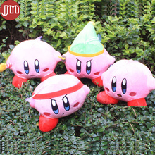 New Kirby Plush Doll Super Mario STAR Key Ring Keychains Popopo Pendant 10-22cm Christmas Gift Kid Toys 4 Styles