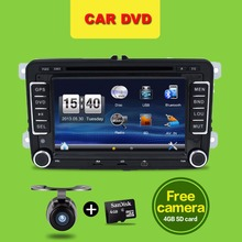7inch 2din VW Car DVD GPS PC Navigation for VW PASSAT B6 GPS Map radio stereo,bluetooth, FM/AM