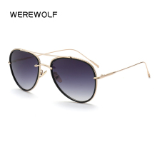 2017 D style Sunglasses pilot Women Or Men Superstar Vintage Brand Designer Metal Frame Celebrity Sun Glasses Male Female gozluk