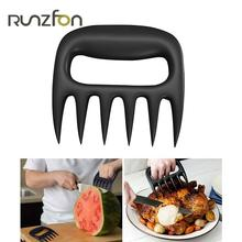 1pcs Bear Meat Paws Claws Handler BBQ Barbecue Roasting Fork Tongs Pull Shred Pork Beef Outdoor Kitchen Cooking Tool Accessories