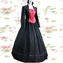 Long sleeve classic womens dress Victorian gothic lolita costumes halloween for women fantasias cosplay dresses girl dresses