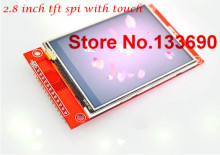 2.8 inch TFT LCD Module with Touch Panel ILI9341 Drive IC 240(RGB)*320 SPI Interface (9 IO)