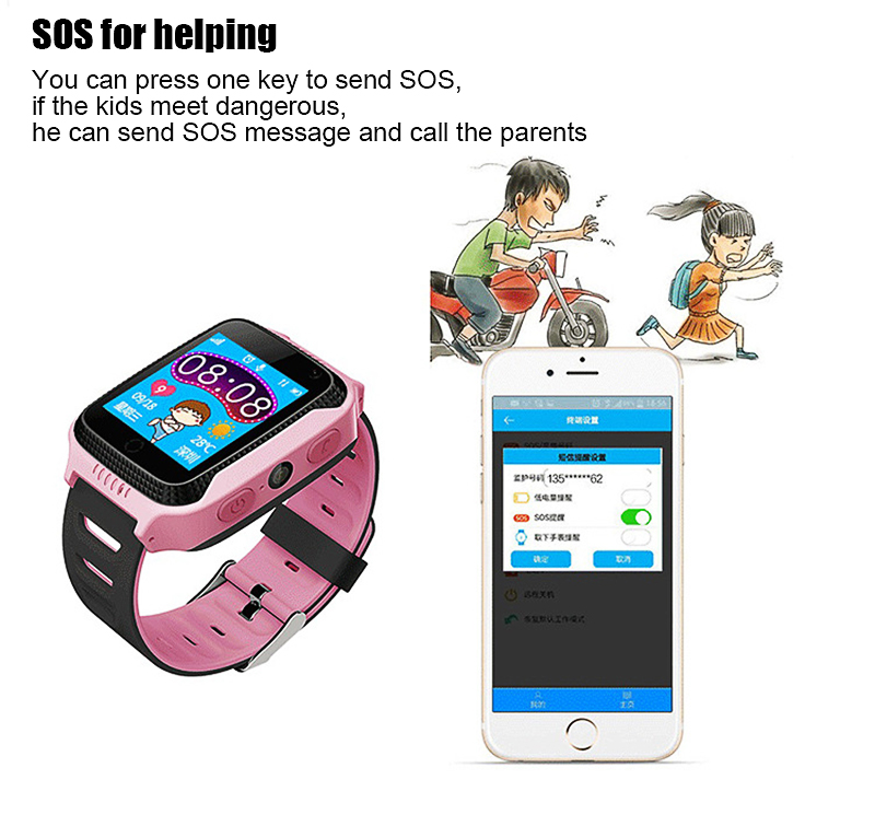MOCRUX Q528 GPS Smart Watch With Camera Flashlight Baby Watch SOS Call Location Device Tracker for Kid Safe PK Q100 DZ09 Q18 (8)