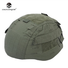 Emerson Tactical Helmet Cover for MICH 2002 Ver2 With Pockets Military Army Hunting Airsoft Helmet Cloth Helmet Accessories(China)