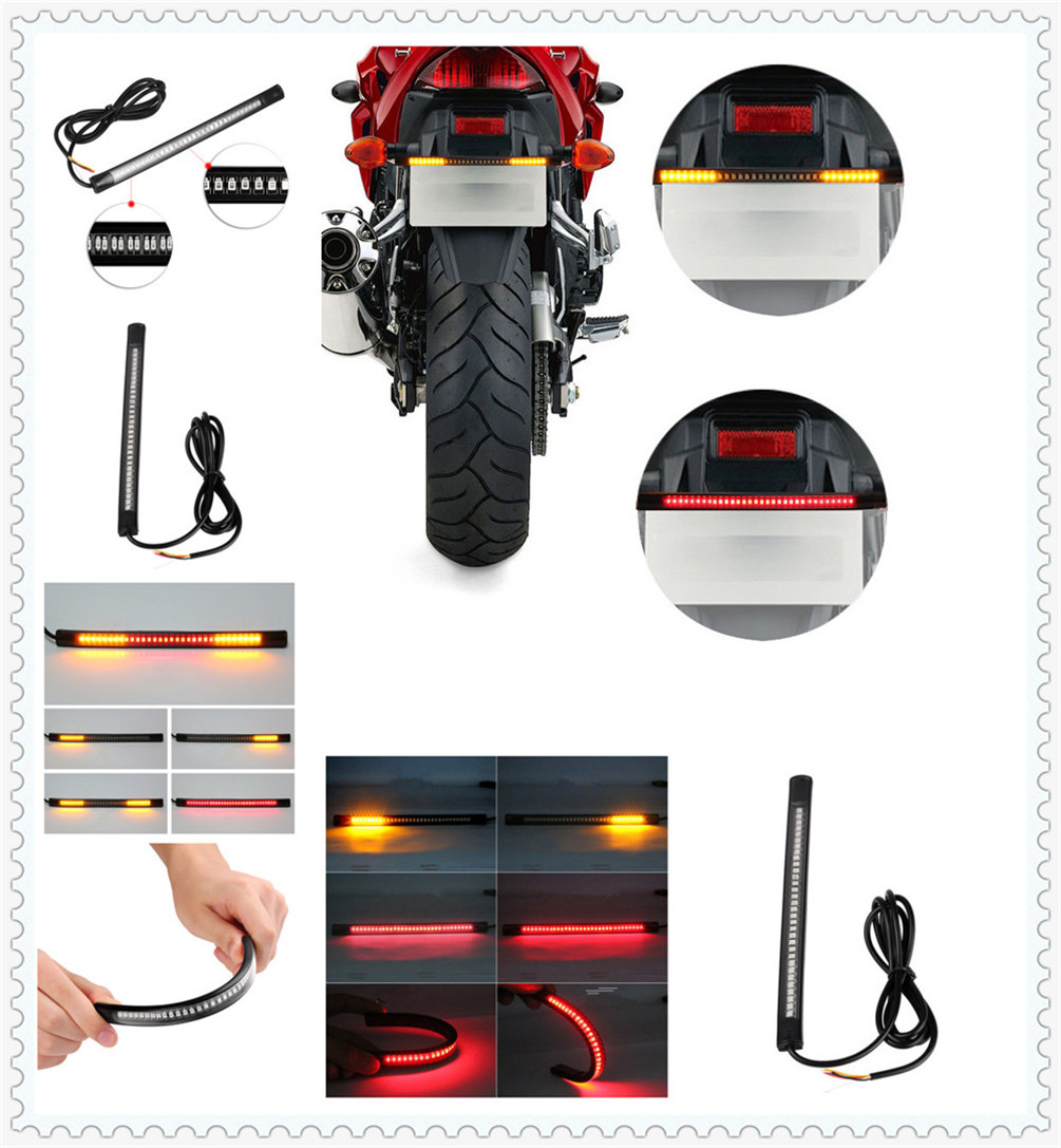 Motorcycle LED waterproof light strip steering warning with casing for HONDA CB1100 GIO special CRF1000L AFRICA TWIN CBF1000 A