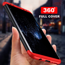 YOJOCK 360 Full Protection Hard PC Case For Samsung Galaxy S6 S7 S7 edge 3 in 1 Plastic Phone Cover for Galaxy S8 S8 Plus Note 8
