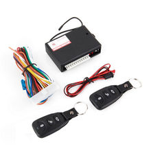 Hot sale Universal Car Remote Central Tool Door Lock Vehicle Keyless Entry Kits(China)
