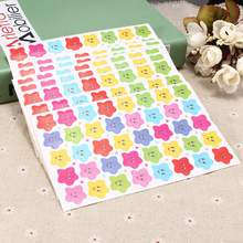 10Sheets Smile Stars Decal School Children Kids Teacher Label Reward Cute Sticker