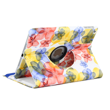 Floral Pattern Tablet Case Cover For Apple iPad mini 4 A1538 A1550 Flip Stand Protective Shell For iPad mini 1 2 3 A1432 A1454(China)