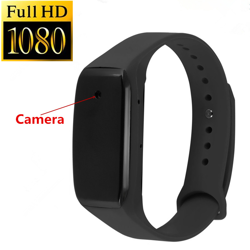 New Fashion Sport DV Bracelet Wearable Camera HD 1080P Small Life Video Recorder Wristband Mini Camcorders Support 32GB TF Card<br>