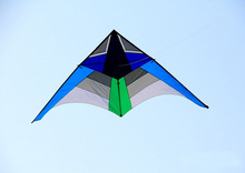 free shipping high quality 3m thunder wing delta kite with handle line outdoor flying toy nylon ripstops large kite surf octopus