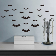 Funny Bat Removable DIY Home Decor Wall Sticker Football Wall Paper For Living Room BedRoom Etc