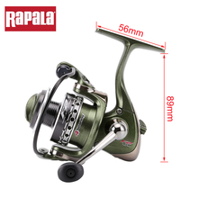 2017 Rapala Brand F2UL 10SP Spinning Fishing Reel 5.2:1 181g 4BB Aluminum Alloy Small Saltwater Fishing Wheel(China)