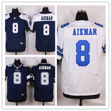 Mens 8 Troy Aikman Jersey 2017 Rush Salute to Service High Quality Football Jerseys(China)