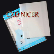 DIY Thicken Transparent Book Cover For Students Gradebook A5 Size Protect Book 34.2*21.5cm 3Bag/lot(China)