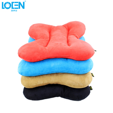 2017 Super soft Plush Universal car seat cover Pad and Lumbar Back Support Seat Cushion Travel Office Chair Decoration 4 colors