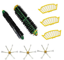 Buy Bristle Brush + Flexible Beater Brush + 3 xSide Brush +3x Filter iRobot Roomba 500 Series Vacuum Cleaner 520 530 540 550 560 for $11.10 in AliExpress store