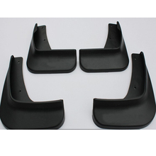Soft plastic Mud Flaps Splash Guard Mudguards For 2010-2013 Mitsubishi Lancer/Lancer EX without side skirt(China)