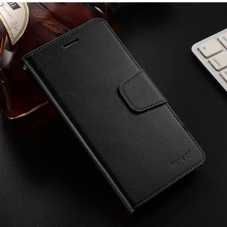 """meizu m6 note Case Coque Flip Leather+TPU Silicone Material Back Cover soft case meizu m6 note (5.5"""") ALIVO flip cover #4088"""