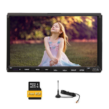 Digital TV Car DVD Player EQ Universal USB Steering Wheel Bluetooth Radio 3D MP4 AMP Stereo GPS iPod Head Unit MP3