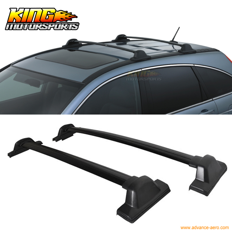 Fits 2007-2011 Honda CRV CR-V OE Factory Style Side Rail Bar Roof Rack Silver