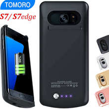 For Samsung S7 Edge Battery Case For Samsung Galaxy S7 battery Charger Case Power Bank Pack Black White Pink Gold Original Brand