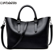 Buy Fashion Hobos Women Bags Ladies Brand PU Leather Handbags large capacity Casual Totes Bag Shoulder Shopping Bags Woman for $19.83 in AliExpress store