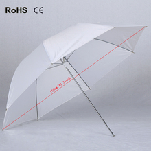 43inch/110cm Translucent White Photography Photo Studio Video flash Soft Umbrella High Quality Brand New