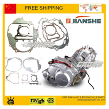 BASHAN JIANSHE JS250-5-3 ATV 250CC FULL SET ENGINE PAPER GASKET ALLOY CYLINDER HEAD GASKET(China)